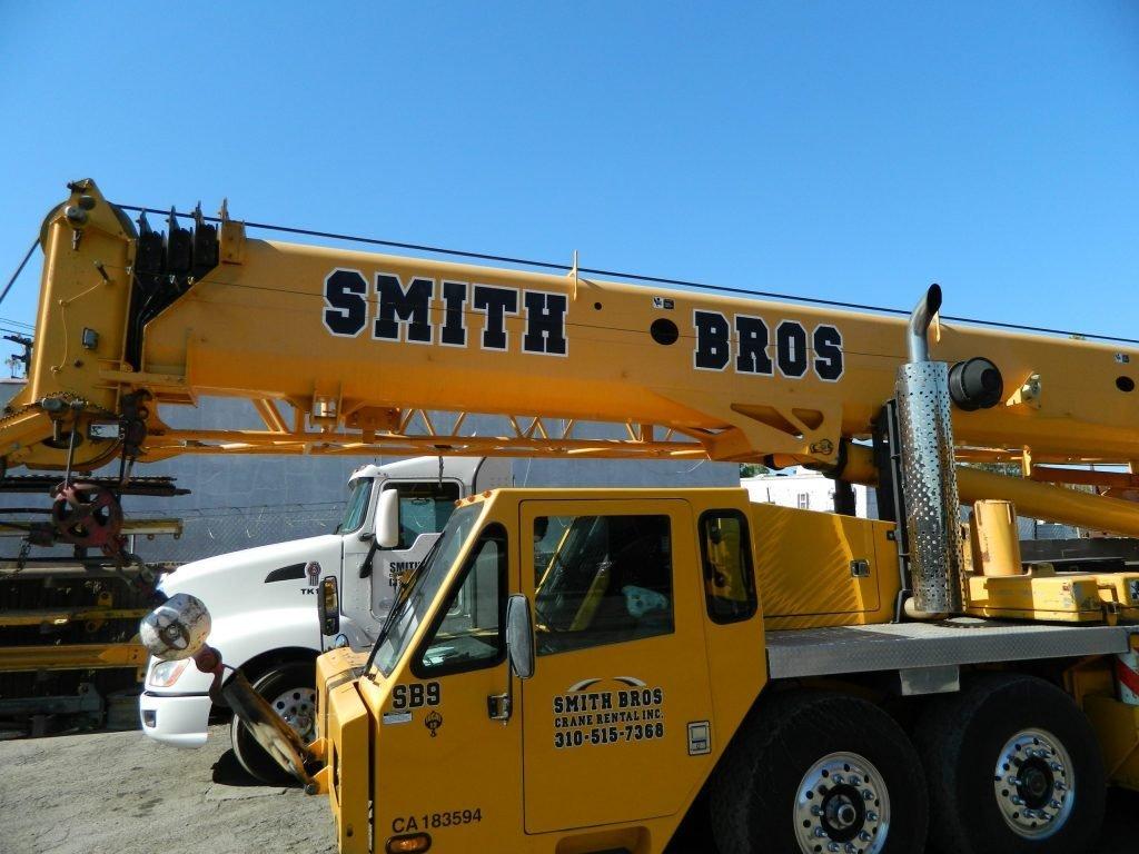 crane rental lot, Gardena California