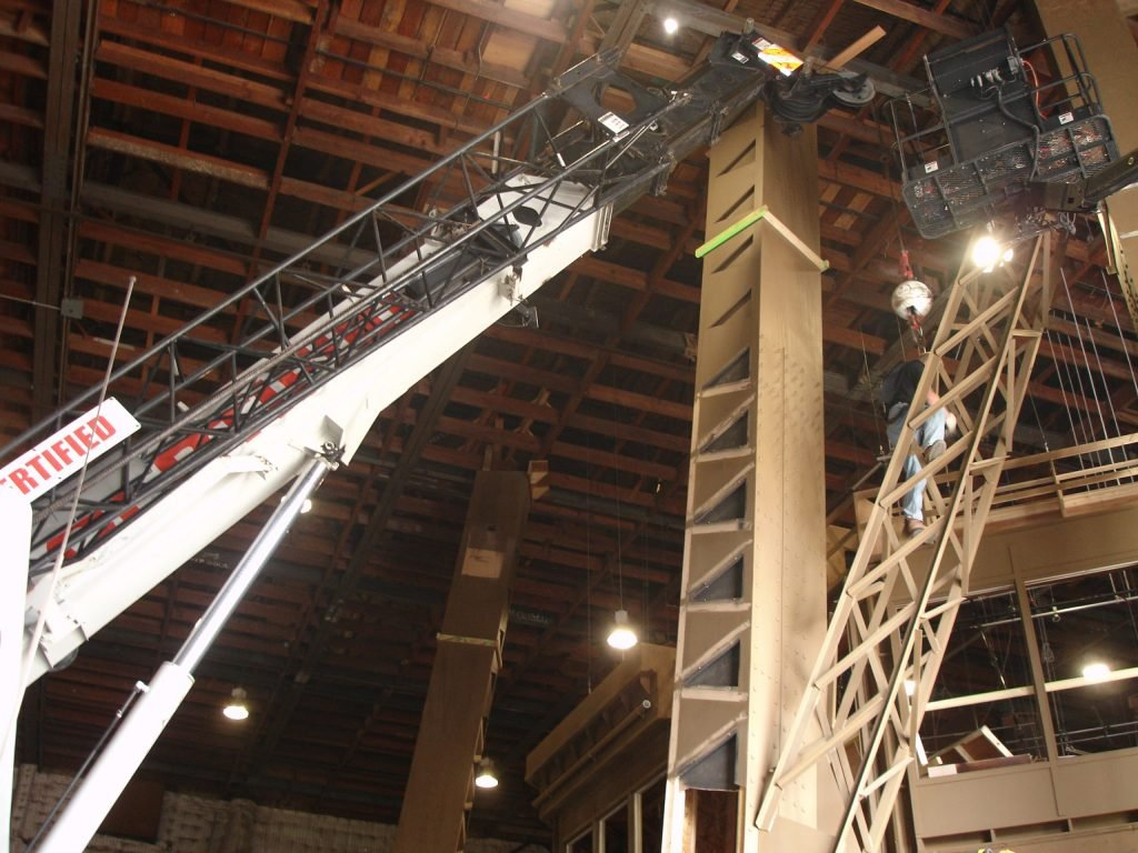 Crane rental for film and television