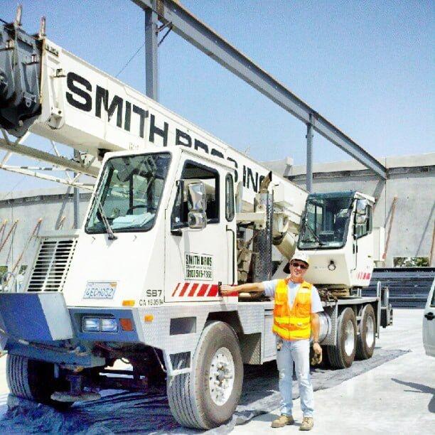 Smith Brothers Crane Rental operator