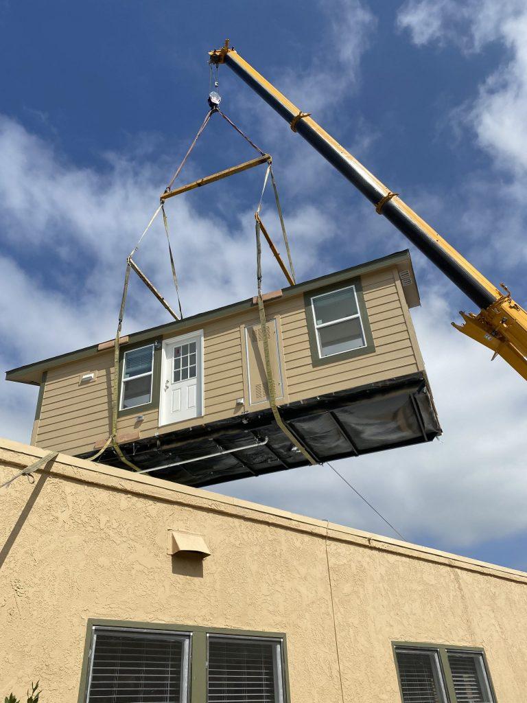 Hollywood crane rentals on set