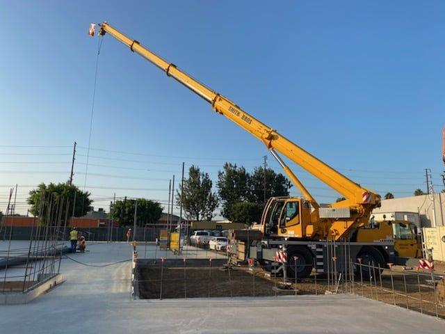 Smith Bros 40AT crane