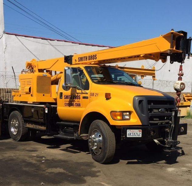 Barbour 5 ton crane rental