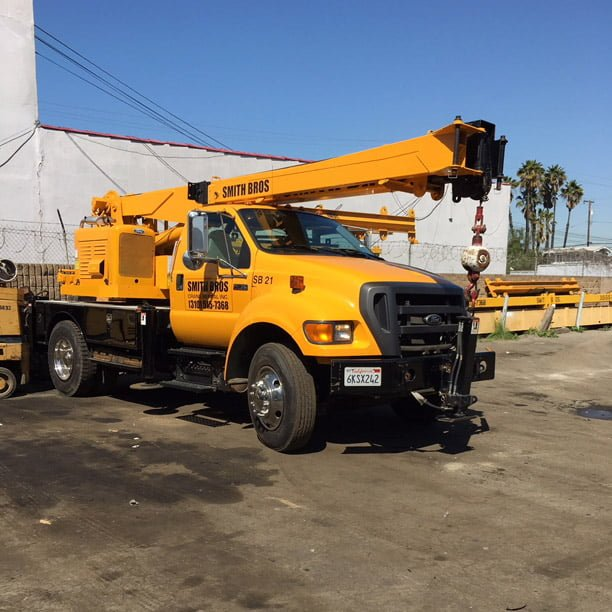 Smith Bros Barbour 5 ton crane