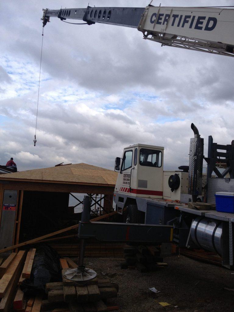 crane working on new construction