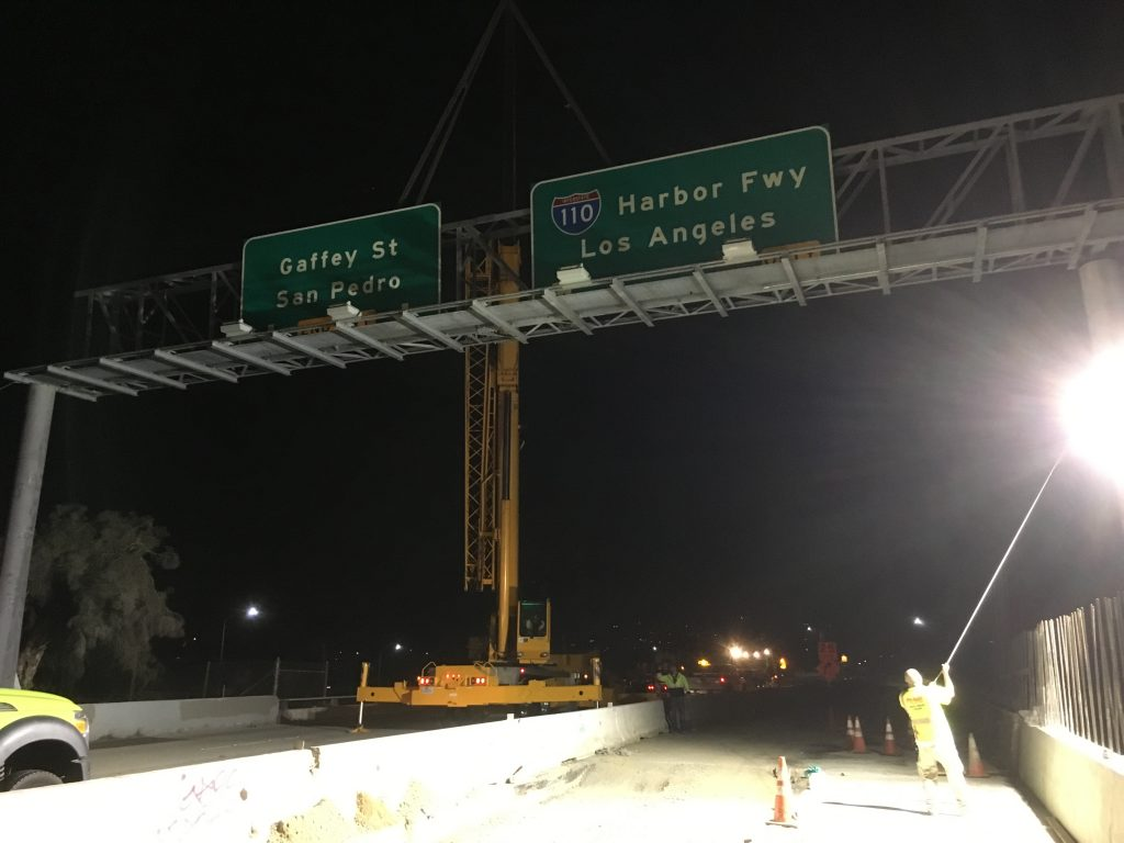 110 Harbour Freeway project