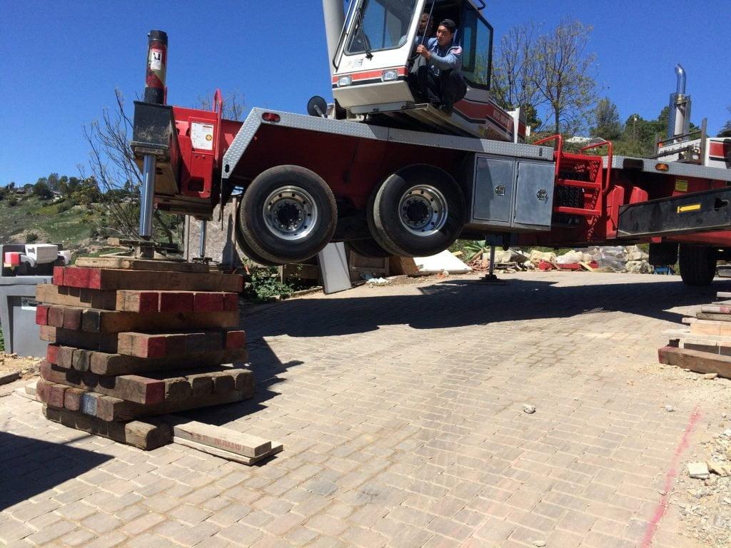 getting a crane level