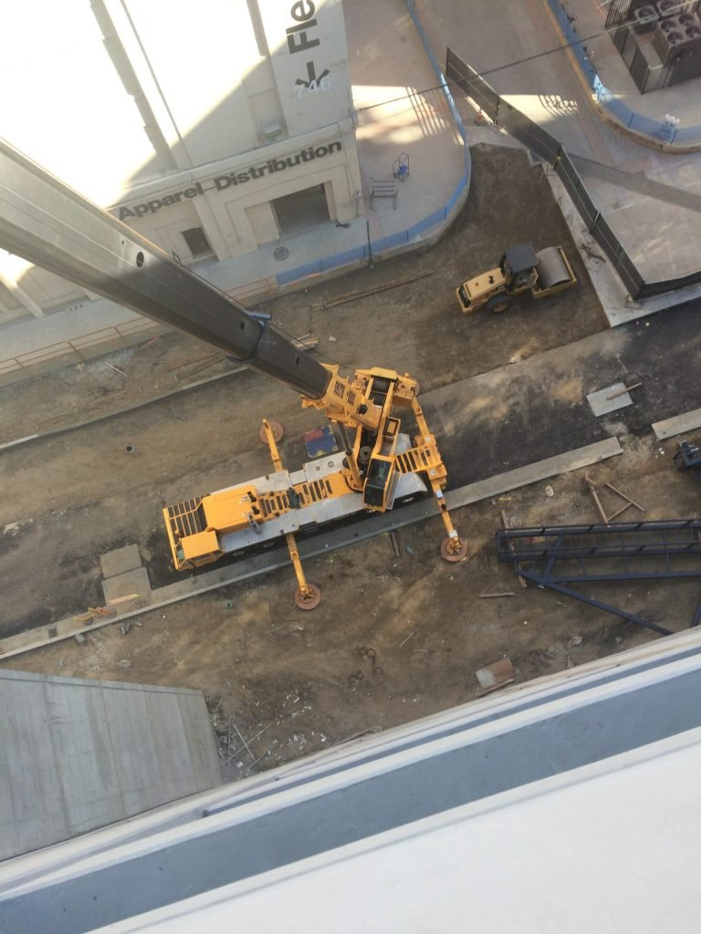 crane, from the top down