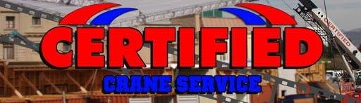 Certified Crane Service logo