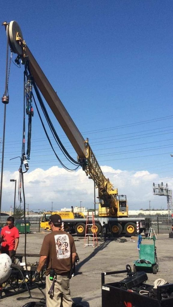Los Angeles crane rental near me